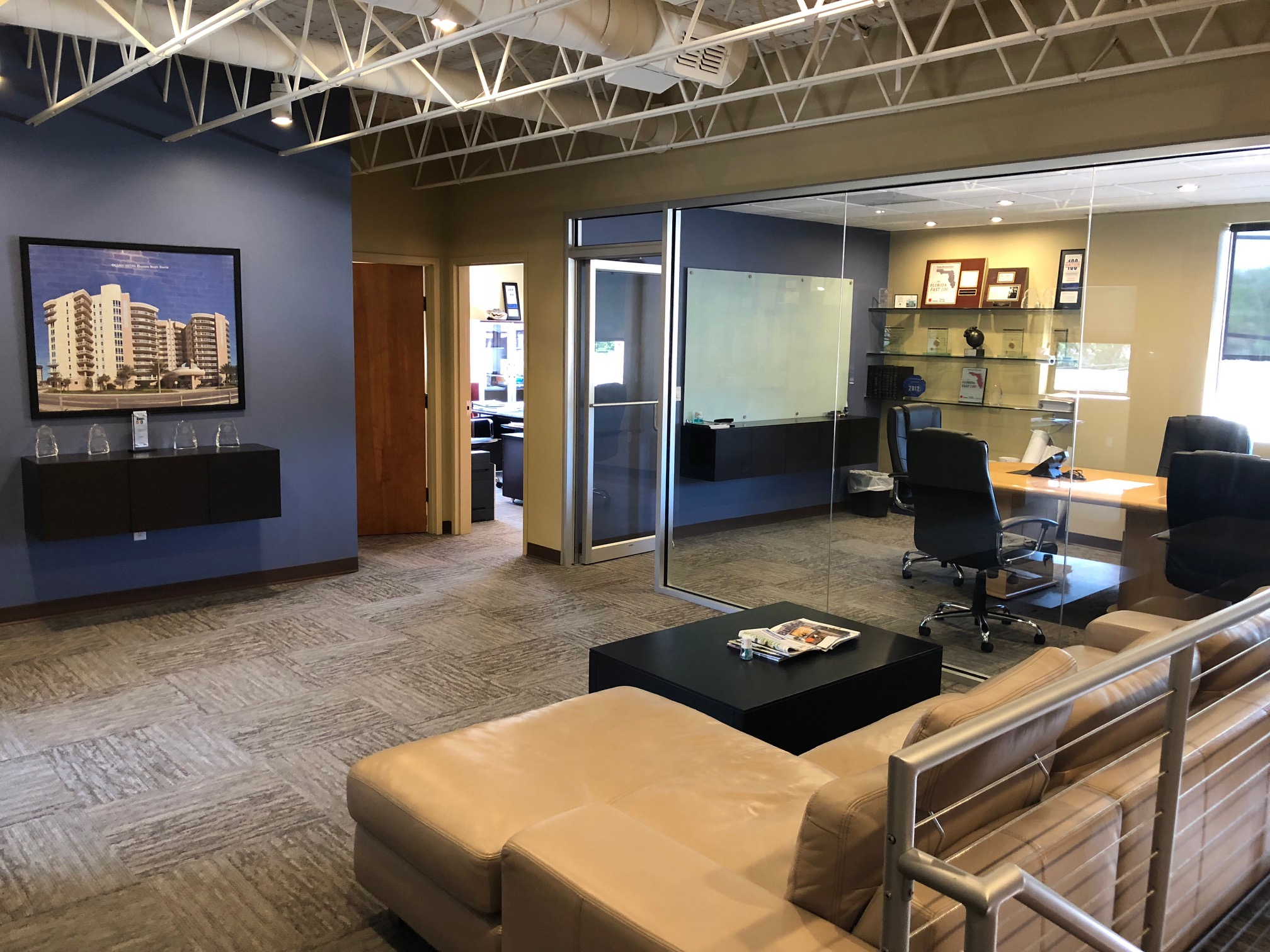 Corporate office interior remodel